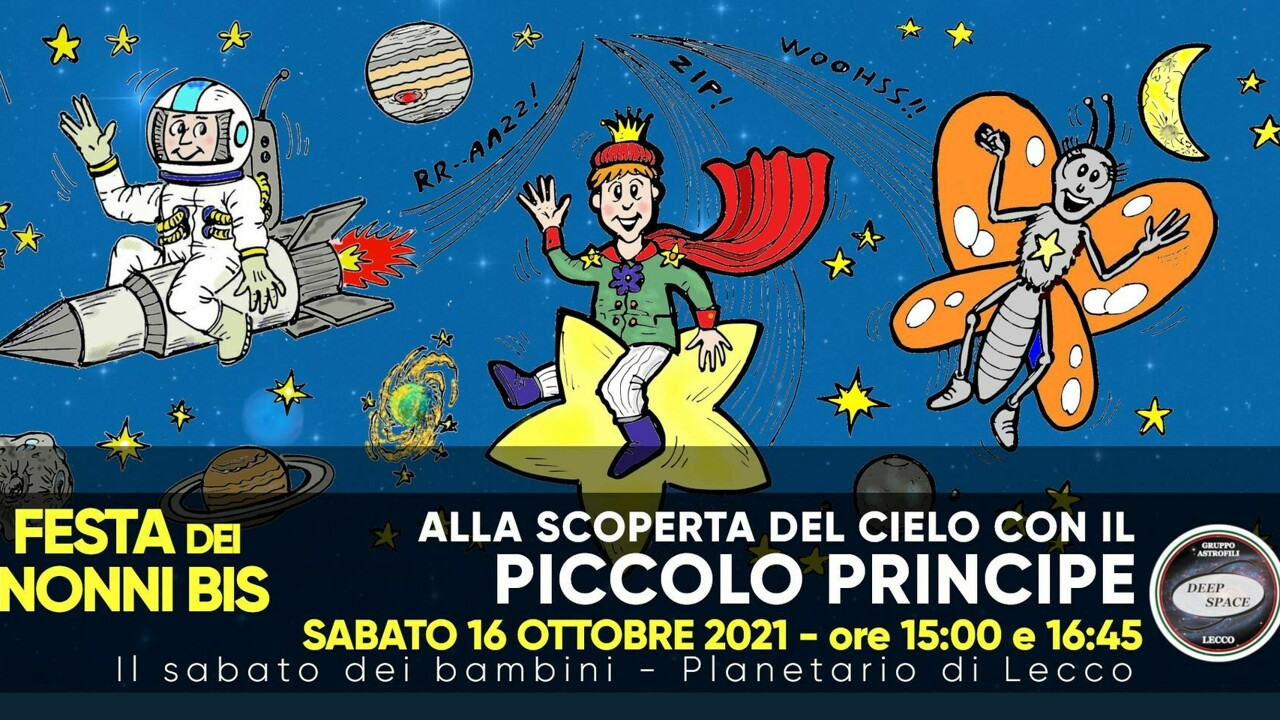 """""""Festa dei nonni bis"""": discovering the sky with the Little Prince thumbnail"""